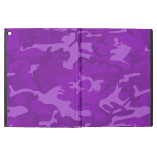 """Purple Camo iPad Pro 12.9"""" Case"""