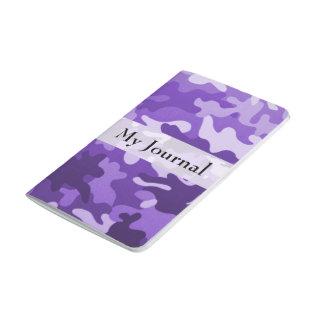 Purple Camo Journals