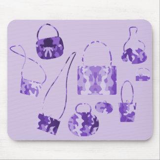 Purple Camo Mouse Pad