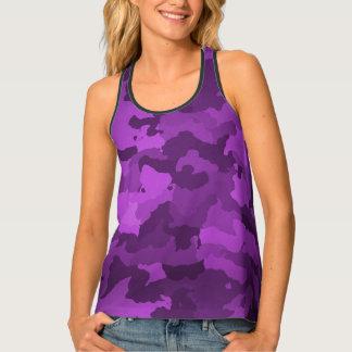 Purple Camo Singlet