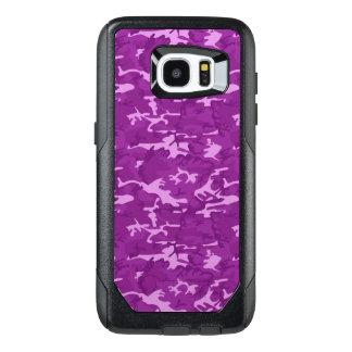 Purple Camouflage OtterBox Samsung Galaxy S7 Edge Case