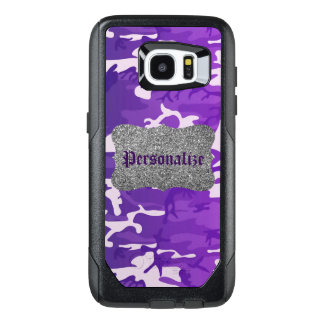 Purple Camouflage OtterBox Samsung Galaxy S7 Edge Case