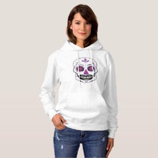Purple Candy Skull Hoodie