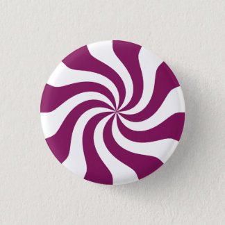 Purple Candy Swirl 3 Cm Round Badge