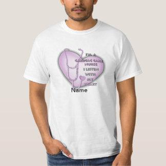 Purple Cardiac Care Nurse Value T-Shirt