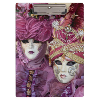 Purple Carnival costume, Venice Clipboard