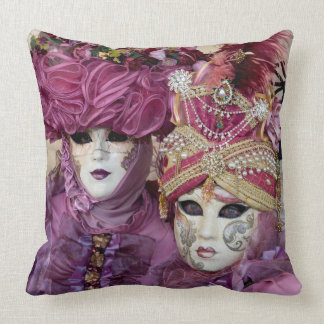 Purple Carnival costume, Venice Cushion
