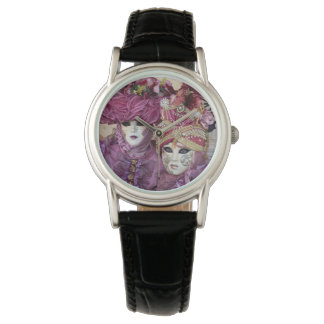 Purple Carnival costume, Venice Wristwatches
