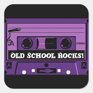 Purple Cassette Groove_ Sticker