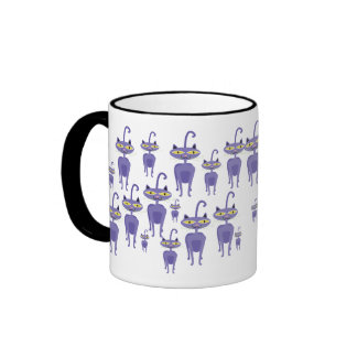 Purple Cats Mug