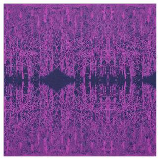 Purple Cattails Fabric