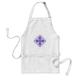 Purple Celtic Cross Standard Apron