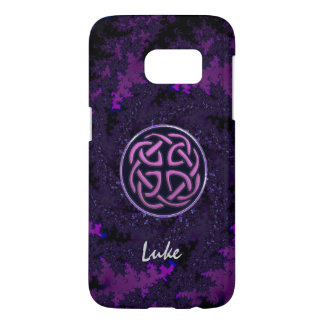Purple Celtic Knot Fractal Samsung Galaxy S7 Case