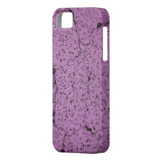 Purple Cement iPhone 5 Cases
