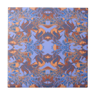 purple ceramic tile