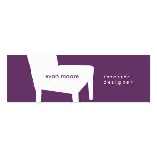 Purple Chair Business Card