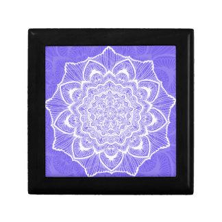 Purple Chakra Blossom, boho, new age, spiritual Gift Box