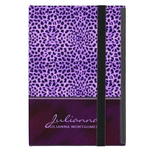 Purple Cheetah Print Mini Tablet Case iPad Mini Case