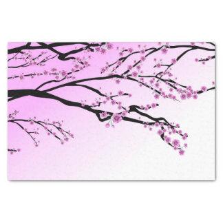 Purple Cherry Blossom Sakura Tissue Paper