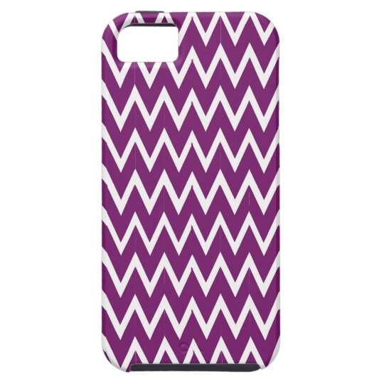 Purple Chevron Illusion iPhone 5 Covers