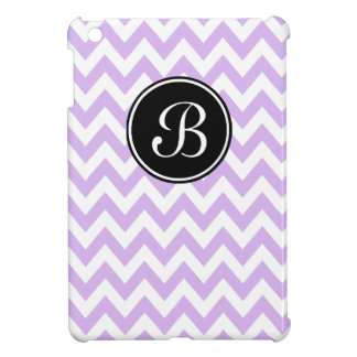 Purple Chevron Modern iPad Mini Case