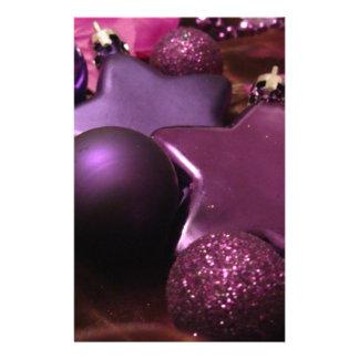 Purple Christmas Flyer