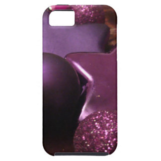 Purple Christmas iPhone 5/5S Cover