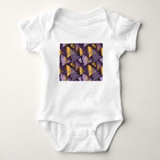 purple christmas trees baby bodysuit