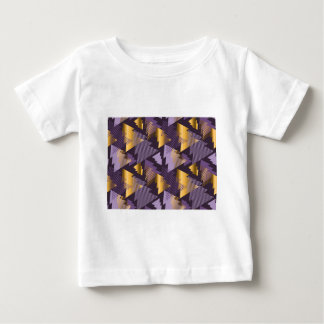 purple christmas trees baby T-Shirt