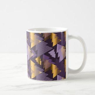 purple christmas trees coffee mug