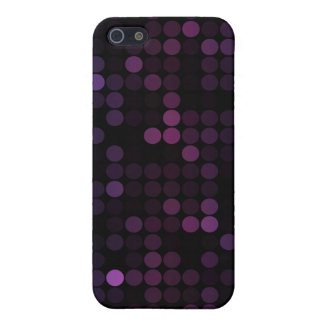 Purple Circles iPhone 5/5S Case