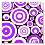 Purple Circles Photo