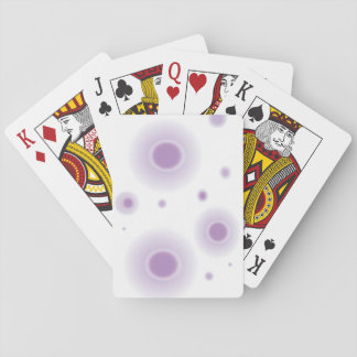 purple circles poker deck