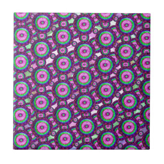 Purple circles tile