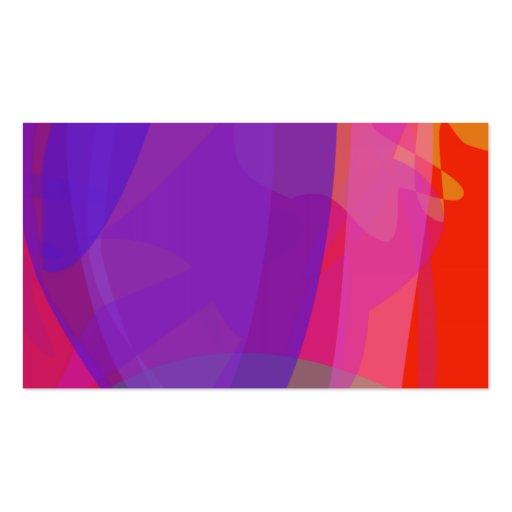 Purple Clam Business Card