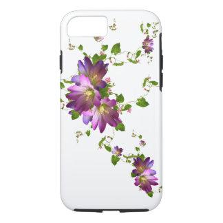 Purple Clematis Flower Plant Floral Flowering Vine iPhone 7 Case