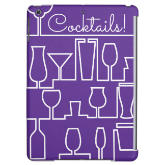 Purple cocktail party