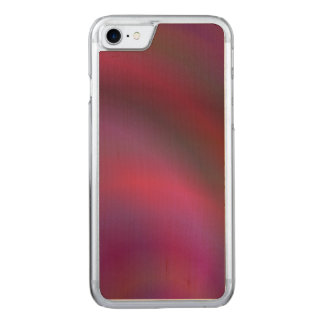 Purple colorful abstract carved iPhone 7 case