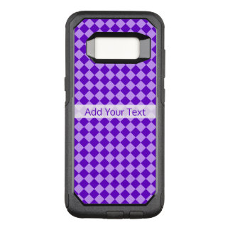Purple Combination Diamond Pattern by STaylor OtterBox Commuter Samsung Galaxy S8 Case