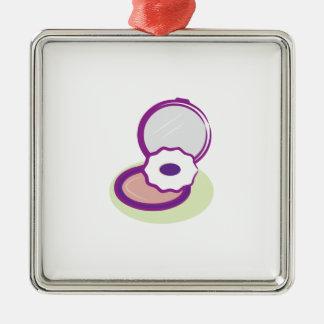 Purple Compact Ornament
