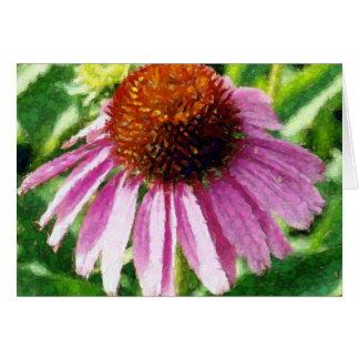 purple coneflower artwork cards