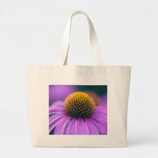Purple coneflower (Echinacea purpurea) Large Tote Bag