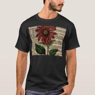 Purple Coneflower Flower T-Shirt
