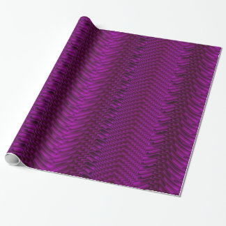 Purple Contemporary Geometric Pattern Wrapping Paper