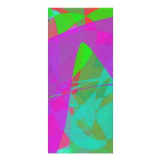 Purple Continent Custom Rack Card