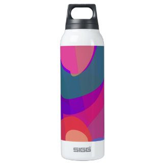 Purple Contrast 0.5 Litre Insulated SIGG Thermos Water Bottle