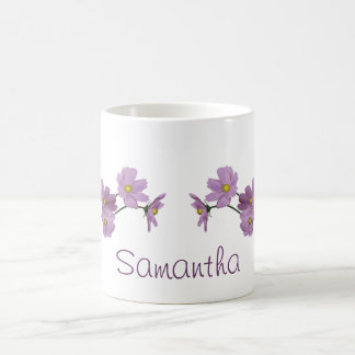 Purple Cosmos Design Coffee Mug