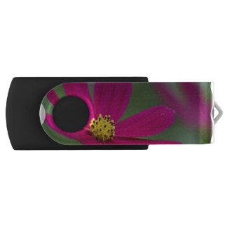 Purple Cosmos Swivel USB 2.0 Flash Drive