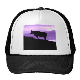 Purple Cow Mesh Hats