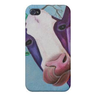 Purple Cow iPhone 4/4S Covers